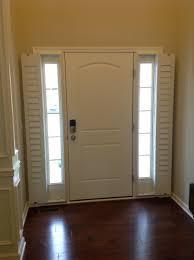 Front Door Window Coverings Front Door Window Shade Dors And Windows Decoration