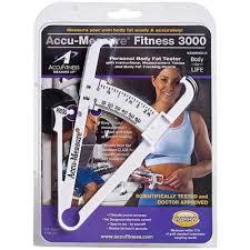 Accu Measure Body Fat Chart Accu Fitness Llc Accu Measure Fitness 3000 Personal Body Fat Tester
