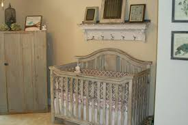 vintage baby cribs bed room with rustic wooden nursery under wall rack as well antique metal for