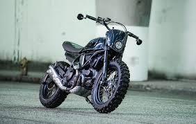 custom ducati scrambler by coterie west bikebound