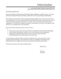 cover letter team player assistant store manager cover letter template cover letter