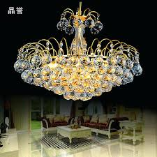 gold crystal chandelier gold crystal chandelier