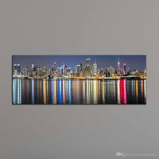 painting modern landscape paintingabstract canvas art graffiti cheap wall decor painting living room wall pictures canvcanvac unframe new york city  on canvas wall art new york city with 2018 unframe new york city canvas painting panoramic home decor