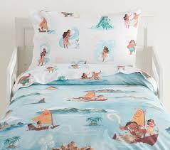 disney moana organic toddler sheet set