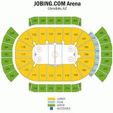 Coyotes Hockey Seating Chart Arizona Coyotes Seating Chart Az Coyotes Nhl Arizona
