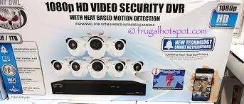 surveillance camera costco. Contemporary Costco Night Owl HD Video Security DVR  8 Cameras Costco  Frugal Hotspot Intended Surveillance Camera S
