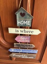 home love multiple distress wood
