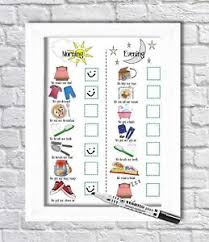 Kids Routine Chart Details About Kids Routine Chart Toddler Tasks Daily Visual Aid Whiteboard Autism Adhd