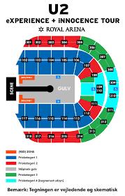 Royal Arena Seating Chart Royal Arena Floor Layout Royal Arena Copenhagen Dk