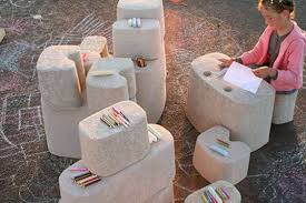 recycled paper furniture. Paper Pulp Playstations Recycled Furniture U