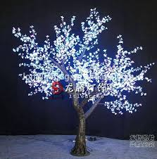 artificial trees with lights color outdoor artificial lighted trees