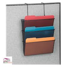 office hanging organizer. Wall Mount Hanging File Folder Organizer 3 Pocket Office