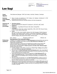 Data Warehouse Resume Examples Data Warehouse Manager Resume Sample Resume Resume Examples 2