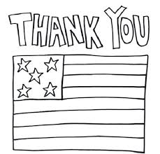 Operation Gratitude Coloring Pages Thank You Military Coloring Pages