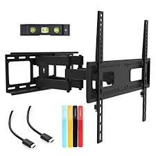 TV <b>Wall Mount</b> Bracket for <b>26-55</b> inch LED, LCD Curved / Flat Panel ...