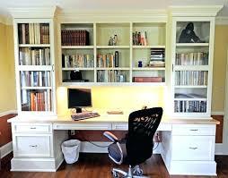 dual desk bookshelf small. Home Office Bookshelf Ideas Medium Size Of Computer In Desk Dual Small