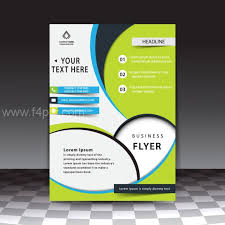 Poster Template Download Free Flyer Templates Download Blue Company Poster Psd File Free