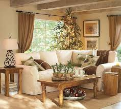 modern country furniture. Rustic Living Room With Wooden Tables And White Sofa Modern Country Furniture