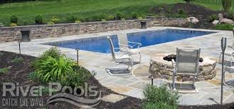 Image Pool Deck Stone Pool Patio River Pools And Spas What Are The Best Materials For Pool Patio