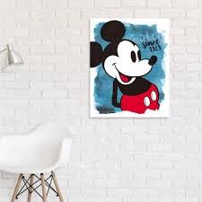 on mickey mouse canvas wall art with disney s mickey mouse canvas wall art