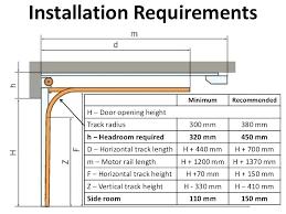 rough opening for garage door garage door height minimum google search dimensions rough opening rough opening