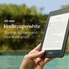 Máy đọc sách Kindle Paperwhite Gen 10 - 2019, Chống nước, Kết nối Bluetooth