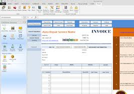 Free Download Invoices Auto Repair Invoice Software Free Download Dascoop 20
