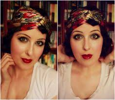 how to authentic flapper makeup theeyreeffect