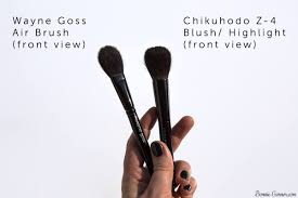 an introduction to anese makeup brushes wayne goss the air brush and chikuhodo z4 bonnie garner skincare makeup nails
