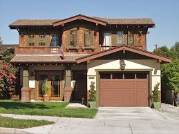 Modern Craftsman Style Homes Craftsman Warm Latte Stucco Olive Trim Mid Coffe Wood And