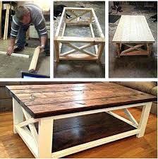 diy coffee table coffee table made easy diy wooden coffee table makeover