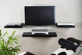 Media shelf Black multi