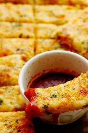 Homemade Garlic Cheese Breadsticks Recipe Grandbaby Cakes