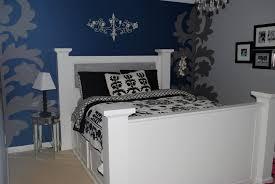 Bedroom Brilliant Blue And Grey Bedroom Dark Blue And Gray - Dark blue bedroom