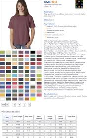 Comfort Colors Shirt Size Chart Amazon Com Comfort Colors C9018 Youth Ringspun T Shirt