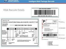 usps barcode format usps intelligent mail package barcode im pb what you need to know
