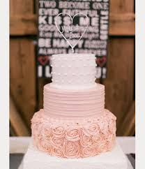 blush wedding cakes for the discriminating bride mon cheri bridals
