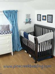 orange and blue baby bedding grey chevron and navy crib rail guards with orange accents in the nursery decor blue green orange crib bedding