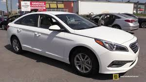 hyundai sonata 2015 exterior. 2015 hyundai sonata gl exterior and interior walkaround st laurent montreal youtube a