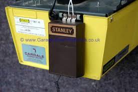 trendy stanley garage doors 1 older door opener within stanly plan 0