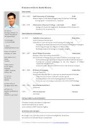 Resume Templates For Cv Template Word Xl Yrltg Cover Letter