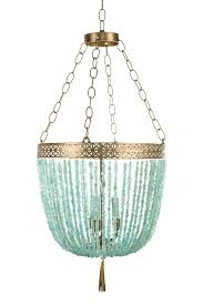 Chandeliers Design Wonderful Turquoise Blue Chandelier Light