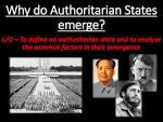 authoritarian state