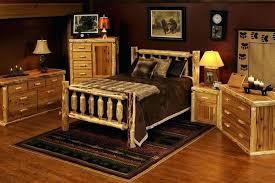 Rustic Bedroom Sets King Modest Marvelous Log King Size Bedroom Sets  Impressive Wonderful Log Bedroom Sets