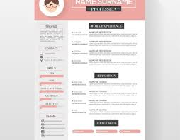 027 Creative Resume Template Free Download Ideas Good Microsoft Word