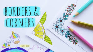 Cute Easy Designs Easy Border Corner Designs For Projects 3