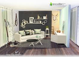 simple living furniture. sims 4 ccu0027s the best keep life simple living room by simcredible furniture
