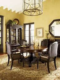 Tommy Bahama Dining Room Furniture Collection Kingstown Bonaire Round Dining Table Lexington Home Brands