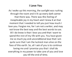 13 romantic love letters for her from