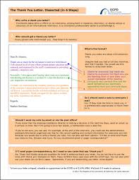 Writing Post Interview Thank You Letters Sample Templates